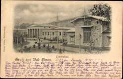 Postcard Bad Elmen Salzelmen Schönebeck an der Elbe im Salzlandkreis, Lindenbad