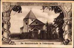 Passepartout Ak Friedrichsruh Aumühle, Gedächtnishalle, Bismarcks Ruhestätte
