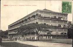 Postcard Saigon Cochinchine Vietnam, Caserne du 11e Régiment d'Infanterie coloniale