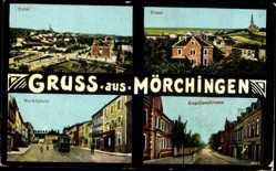 Postcard Morhange Mörchingen Elsaß Moselle, Markt, Neustadt, Kapellenstraße, Totale