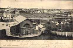Postcard Szombathely Steinamanger Ungarn, Latkep, Panorama
