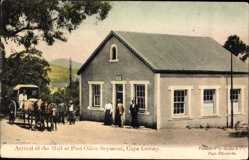 Postcard Seymour Cape Colony Südafrika, Arrival of the Mail at Post Office