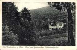 Postcard Bad Gandersheim in Niedersachsen, Hotel Waldschlösschen