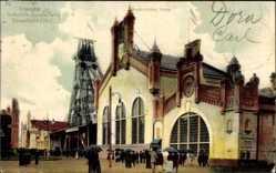 Postcard Düsseldorf am Rhein, Gewerbeausstellung 1902, Bergbaulicher Verein