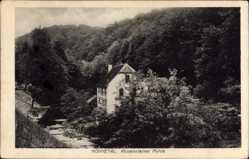 Postcard Hönnetal Balve im Sauerland, Partie an der Kursteiner Mühle