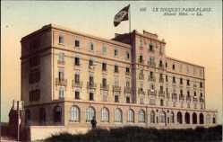 Ak Le Touquet Paris Plage Pas de Calais, Atlantic Hotel