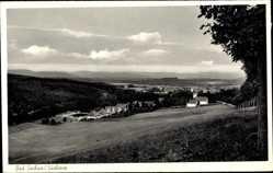 Postcard Bad Sachsa in Niedersachsen, Totalansicht der Ortschaft im Südharz