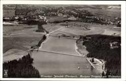 Postcard Clausthal Zellerfeld im Oberharz, Fliegeraufnahme, Kurhaus Voigtsluft