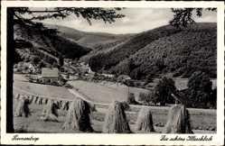 Postcard Finnentrop Nordrhein Westfalen, Die schöne Illeschlade