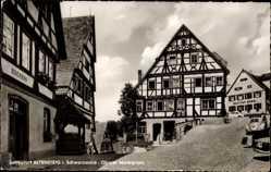Postcard Altensteig im Kreis Calw Baden Württemberg, Oberer Marktplatz