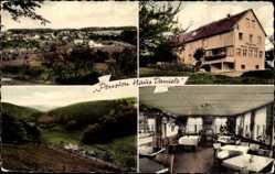 Postcard Ohlenhard Eifel Rheinland Pfalz, Pension Haus Daniels