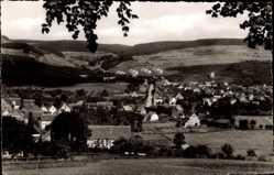 Postcard Bruchhausen Ottbergen Höxter in Nordrhein Westfalen, Panorama vom Ort