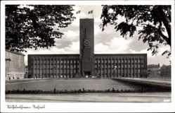 Postcard Wilhelmshaven in Niedersachsen, Ansicht vom Rathaus