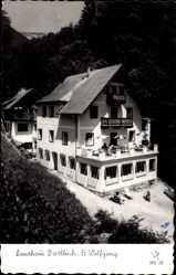 Postcard St. Wolfgang Oberösterreich, Landhaus Dietbach, Balkon