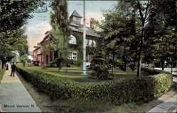 Postcard Mount Vernon New York USA, Chester Hill School, Schule