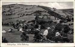 Ak Niemodlin Falkenberg Schlesien, Eulengebirge, Panorama vom Ort