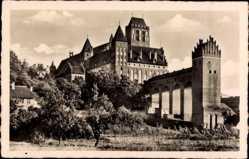 Postcard Kwidzyn Marienwerder Westpreußen, Blick auf das Schloss