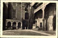 Ak Kaliningrad Königsberg Ostpreußen, Schlosswinkel am Blutgericht