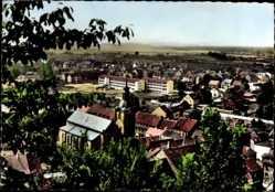Postcard Homburg im Saarpfalz Kreis, Blick über die Dächer der Stadt