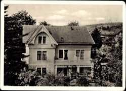 Postcard Bad Harzburg in Niedersachsen, Villa Feise, M. Glabbatz