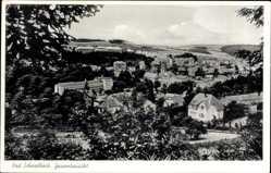Postcard Bad Schwalbach im Rheingau Taunus Kreis, Gesamtansicht des Ortes