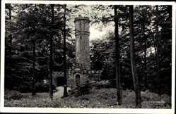 Postcard Bad Münder am Deister, Der Nordmannsturm, W. Völksen