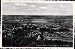 Postcard Lichtenberg Salzgitter in Niedersachsen, Blick vom Burgberg auf den Ort