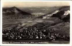 Postcard Happurg in Mittelfranken, Blick vom Hochlandsteig