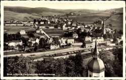 Postcard Neuhausen im Kreis Mittelsachsen, Blick vom Schloss Purschenstein