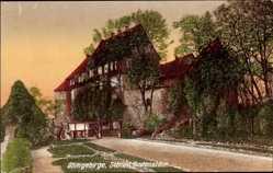 Postcard Bodenstein Nittenau, Ohmgebirge, Fachwerkaus