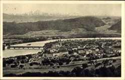 Postcard Bad Säckingen am Hochrhein Kreis Waldshut, Gesamtansicht, Talblick