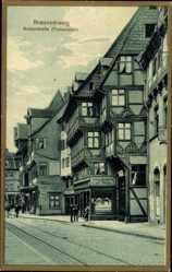 Postcard Braunschweig in Niedersachsen, Breitestraße, Flohwinkel