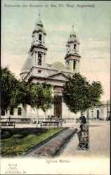 Postcard Santa Fe Argentinien, Recuerdo del Rosario, Kirche, Iglesia Matriz