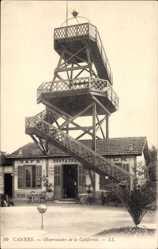 Ak Cannes Alpes Maritimes, Observatoire de la Californie, Aussichtsturm