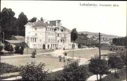 Postcard Lázně Luhačovice Bad Luhatschowitz Reg. Zlin, Smetanuv dum, Gebäude