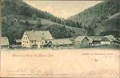 Postcard Terz St. Aegyd am Neuwalde Niederösterreich, Gasthof z. Steierischen Grenze