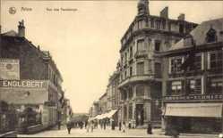 Postcard ArlonArel Wallonien Luxemburg, Rue des Faubourgs, Ambroes Schmitz