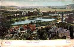 Postcard Brno Brünn Südmähren, Blick von der Juran auf Schreibwald und Brünn