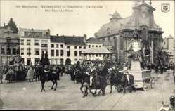 Ak Mechelen Malines Flandern Antwerpen, Den Reus, Praaltrein, Cavalcade
