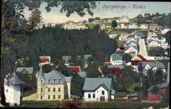 Postcard Kukan Isergebirge Reg. Reichenberg, Totalansicht der Ortschaft