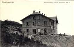 Postcard Jeseník Freiwaldau Reg. Olmütz, Altvatergebirge, Georgschutzhaus, Hochschar