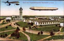 Ak Świętoszów Neuhammer Queis Schlesien, Truppenübungsplatz, Zeppelin