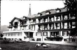 Postcard Interlaken Kt. Bern Schweiz, Alters und Erholungsheim Abendruh