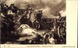 Künstler Ak Philippoteaux, Bataille de Rivoli, Napoleon, Gefecht, Soldaten