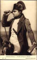 Künstler Ak Vernet, Horace, Bataille de Wagram, Detail, Napoleon
