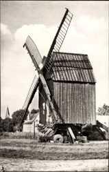 Postcard Arendsee in der Altmark, Blick auf die alte Mühle, Windmühle