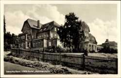 Postcard Schierke Wernigerode, Blick auf das VWR Hotel Heinrich Heine