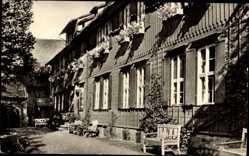 Postcard Drübeck Ilsenburg am Nordharz, Blick auf das Kurheim Kloster