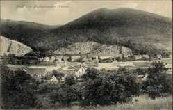 Postcard Neckarsteinach im Kreis Bergstraße Hessen, Totalansicht der Ortschaft