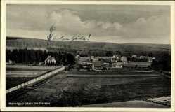 Postcard Wennigsen Deister, Wennigser Mark, Blick auf den Ort, Felder